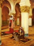 rudolf ernst evening prayer paintings