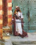 standing guard by rudolf ernst painting-82733