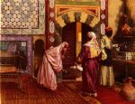 rudolf ernst paintings - the hammam by rudolf ernst