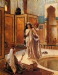 the harem bath by rudolf ernst painting-83714