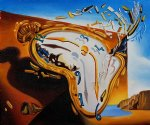 explosion by salvador dali painting
