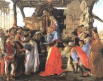 sandro botticelli adoration of the magi iv painting