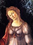 allegory of spring detail by sandro botticelli painting