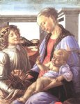 sandro botticelli madonna and child with an angel ii painting-25222