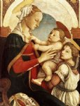 sandro botticelli madonna and child with an angel iii painting 25223