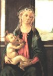 madonna of the sea by sandro botticelli painting
