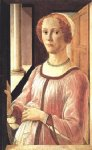 sandro botticelli portrait of a lady painting 25234