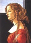 sandro botticelli portrait of a young woman ii painting 25239