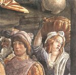 sandro botticelli the trials and calling of moses detail 5 cappella sistina vatican painting
