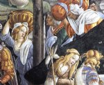 sandro botticelli the trials and calling of moses detail 6 cappella sistina vatican painting