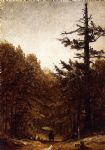 sanford robinson gifford a forest road paintings