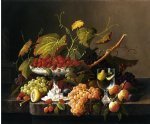 an abundance of fruit by severin roesen painting