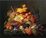 natures bounty by severin roesen painting