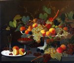 still life of fruit by severin roesen painting