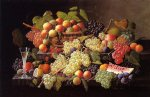 still life with fruit by severin roesen painting