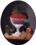 still life with strawberries by severin roesen painting
