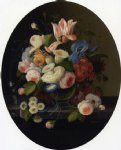 severin roesen vase of flowers painting 25192