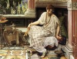 chloe dulces docta modos et citharae sciens by sir edward john poynter painting