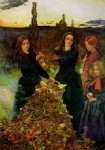 sir john everett millais autumn leaves art