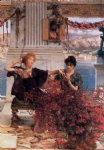 sir lawrence alma tadema love s jewelled fetter painting