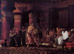 sir lawrence alma tadema pastimes in ancient egypt 3 000 years ago painting