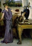 sir lawrence alma tadema pottery painting