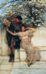 sir lawrence alma tadema promise of spring painting