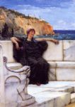 sir lawrence alma tadema resting painting