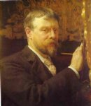 sir lawrence alma tadema self portrait ii painting