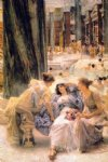 the baths of caracalla by sir lawrence alma tadema painting