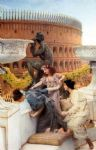sir lawrence alma tadema the coliseum art