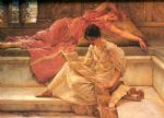 sir lawrence alma tadema the favourite poet art