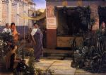 sir lawrence alma tadema the flower market painting 83596