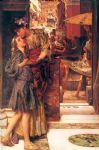 sir lawrence alma tadema the parting kiss art