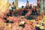 sir lawrence alma tadema the roses of heliogabalus painting 84134