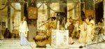 vintage oil paintings - the vintage festival by sir lawrence alma tadema painting
