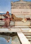 sir lawrence alma tadema xanthe and phaon art