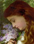 girl with lilacs by sophie anderson paintings-24905