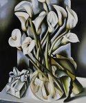 arums by tamara de lempicka painting