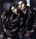the refugees by tamara de lempicka paintings-24904