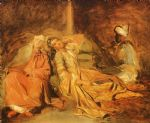 harem by theodore chasseriau painting