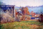 theodore clement steele the old mills painting