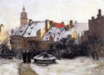 theodore clement steele winter afternoon painting