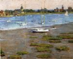 the anchorage cos cob by theodore robinson painting