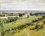 valley of the seine by theodore robinson painting