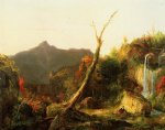 thomas cole autumn landscape painting 24688