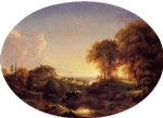 landscape paintings - catskill landscape by thomas cole