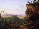 thomas cole indians viewing landscape painting 24711