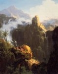 thomas cole landscape composition st. john in the wilderness painting 24718