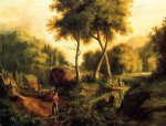 thomas cole landscape ii painting 24719